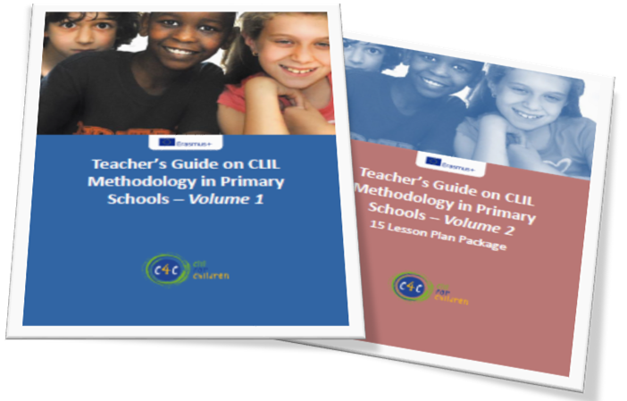 Teacher's Guide on CLIL Methodology in Primary Schools - 2 volumes